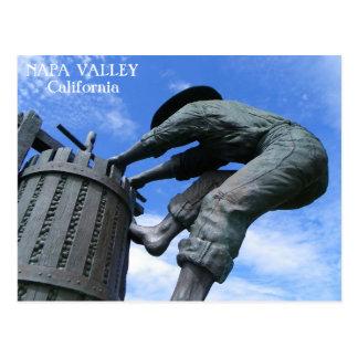 Carte postale très grande de Napa Valley !