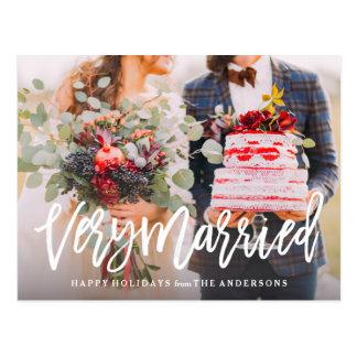 Carte Postale Très marié