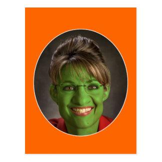 Carte Postale Très un Palin Halloween !