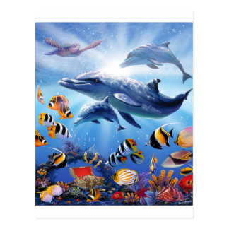 Carte Postale Trésors d'océan
