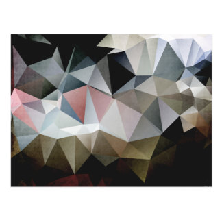 Carte Postale Triangles texturisées