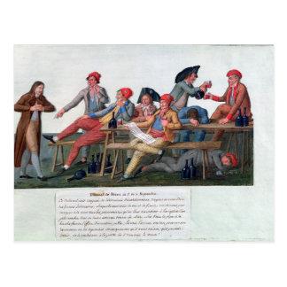Carte Postale Tribunal de prison de 2 et le 3 septembre 1792