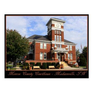 Carte Postale Tribunal du comté de Monroe - Madisonville, TN