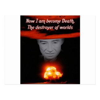 Carte Postale Trinité Robert Oppenheimer