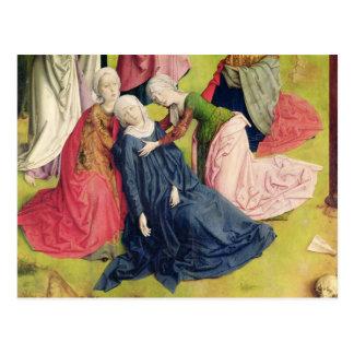 Carte Postale Triptyque de la crucifixion