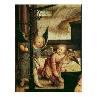 Carte Postale Triptyque de l'adoration de l'enfant