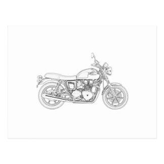 Carte Postale Triumph vintage