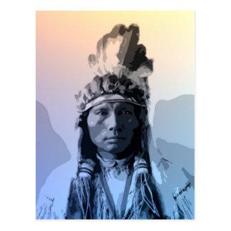 Carte Postale Trois doigts - Cheyenne du sud