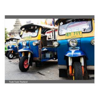 Carte Postale Trois roulent dedans la Thaïlande