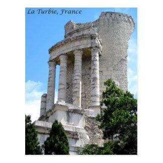 Carte Postale Trophée d'Augustus, La Turbie, France