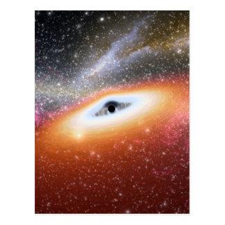 Carte Postale Trou noir massif de NASAs
