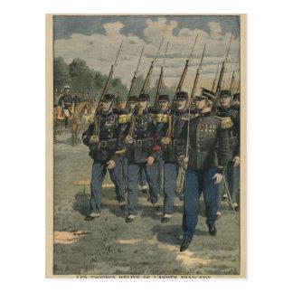Carte Postale Troupes d'élite d'armée française