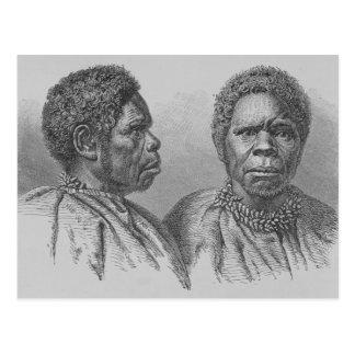 Carte Postale Truganina, la dernière femme tasmanienne