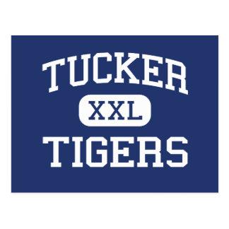 Carte Postale Tucker - tigres - lycée - Richmond la Virginie