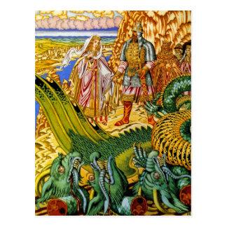 Carte postale :  Tueur de dragon