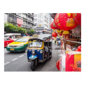 Carte Postale Tuk de Tuk, Bangkok