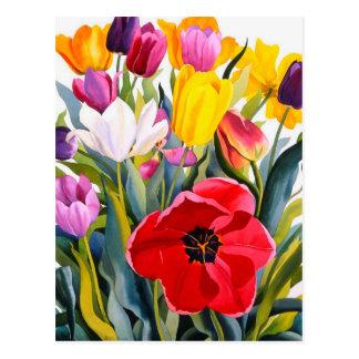 Carte Postale Tulipes 2007