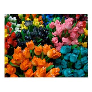 Carte Postale Tulipes d'Amsterdam