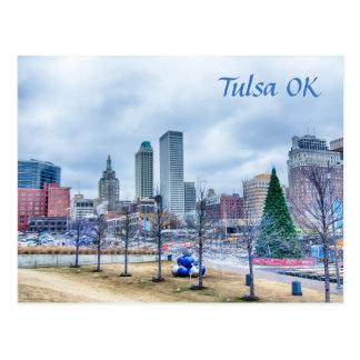 Carte Postale tulsa l'Oklahoma du centre