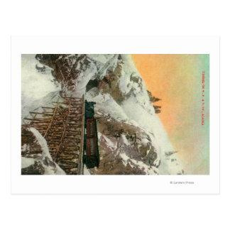 Carte Postale Tunnel sur Pacifique occidental et Yukon rr