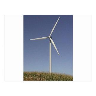 Carte Postale Turbine de vent