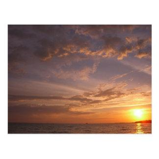 Carte Postale Turcs et la Caïques de la baie V Providenciales de