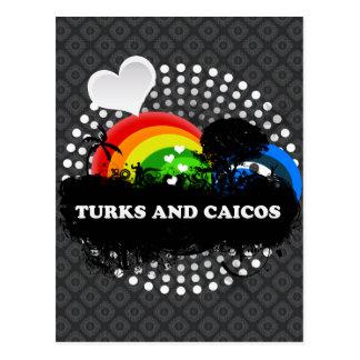 Carte Postale Turcs et la Caïques fruités mignons