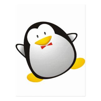 Carte Postale Tux d'image de Linux de pingouin