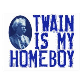 Carte Postale Twain est mon Homeboy