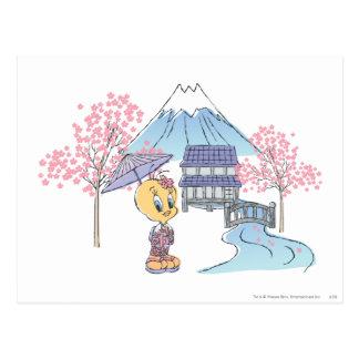 Carte Postale Tweety Japon