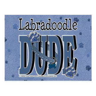 Carte Postale TYPE de LabraDoodle