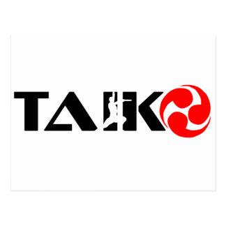 Carte Postale Type de Taiko (conception 1)