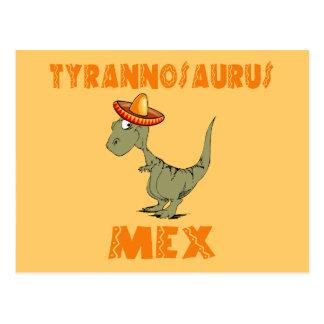 Carte Postale Tyrannosaurus Mex