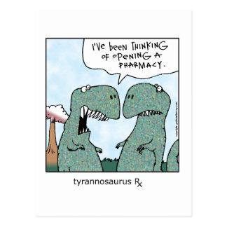 Carte Postale Tyrannosaurus Rx
