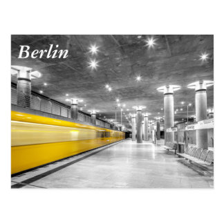 Carte Postale U Bahn Berlin