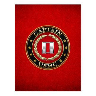 Carte Postale U.S. Marines : Captain (capitaine d'usmc) [3D]