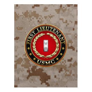 Carte Postale U.S. Marines : Premier lieutenant (usmc 1stLt)
