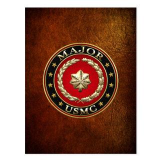 Carte Postale U.S. Marines : Spécialisez-vous (commandant