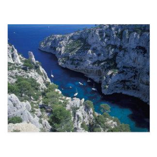Carte Postale UE, côte de la France, Provence, la Côte d'Azur, 2