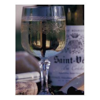 Carte Postale UE, France, Chablis, vin du pays