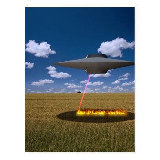 CARTE POSTALE UFO