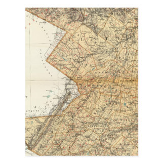 Carte Postale Ulster, Comtés d'Orange