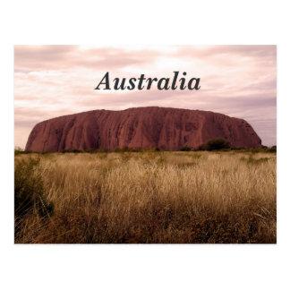 Carte Postale Uluru