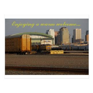 Carte Postale un accueil chaleureux de Phoenix AZ
