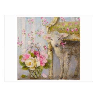 Carte Postale Un agneau à Trianon © Atelier Flont