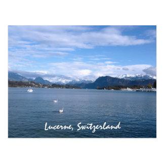 Carte Postale Un après-midi par la luzerne de lac