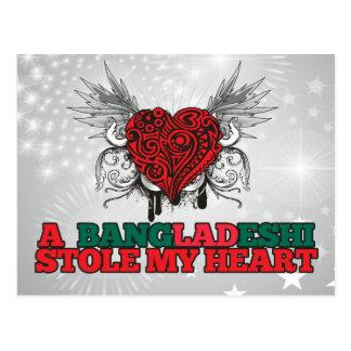 Carte Postale Un Bangladais a volé mon coeur