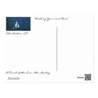 Carte Postale Un beau jour dans le port de Charleston !