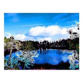 Carte Postale Un de lacs Finlands