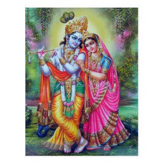 Carte Postale un dieu indien